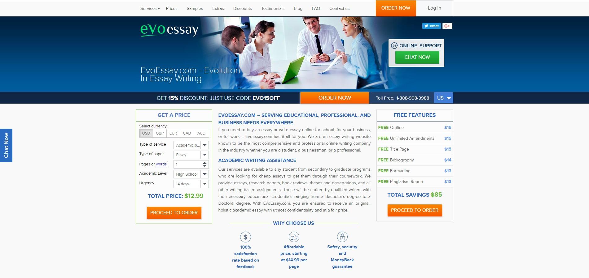 Evoessay.com - review